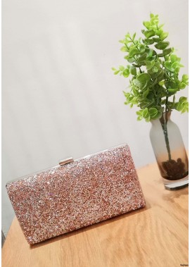 High-Grade Shiny Rhinestone One Shoulder Diagonal Handbags T901556162706
