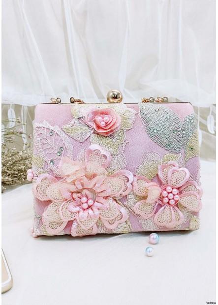 New Retro Flower Embroidery Chain Handbags T901556184180