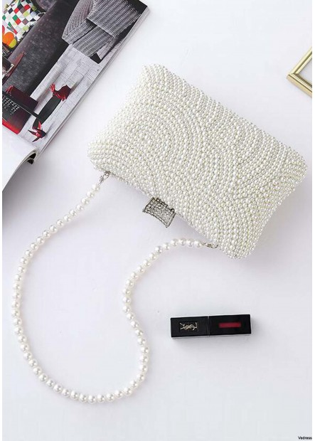 New Pearl Ladies Evening Dress Chain Slash Handbags T901556077172