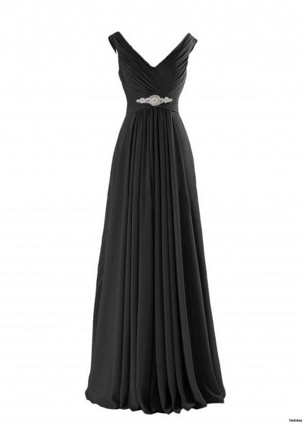 Chiffon Waist Bridesmaid's Dress T901553670705