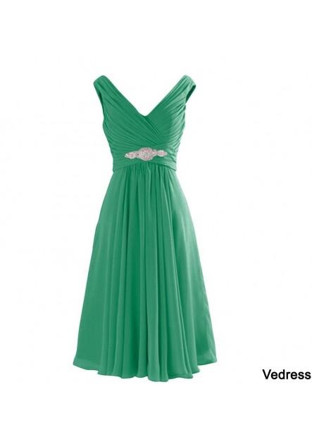 Short Chiffon Bridesmaid Dress T901553672492