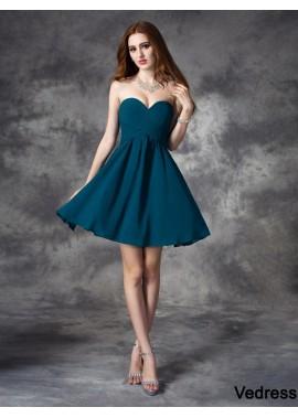 Vedress Short Homecoming Prom Evening Dress T801524710373