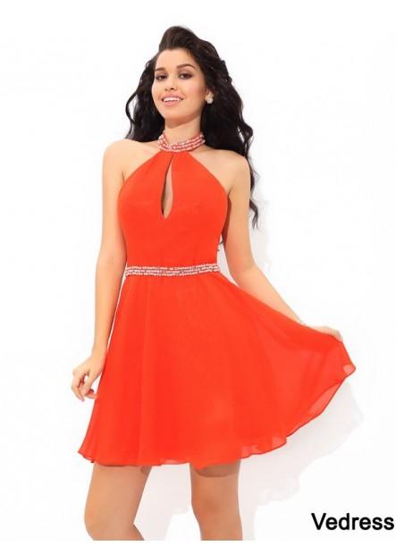 Vedress Short Homecoming Prom Evening Dress T801524710617