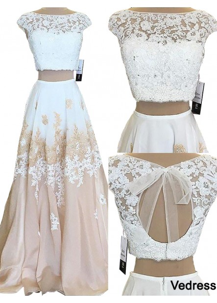 Vedress Two Piece Long Prom Evening Dress T801524703811
