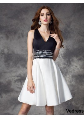 Vedress Sexy Short Homecoming Prom Evening Dress T801524710946