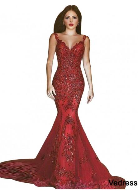 Vedress Mermaid Long Prom Evening Dress T801524703825