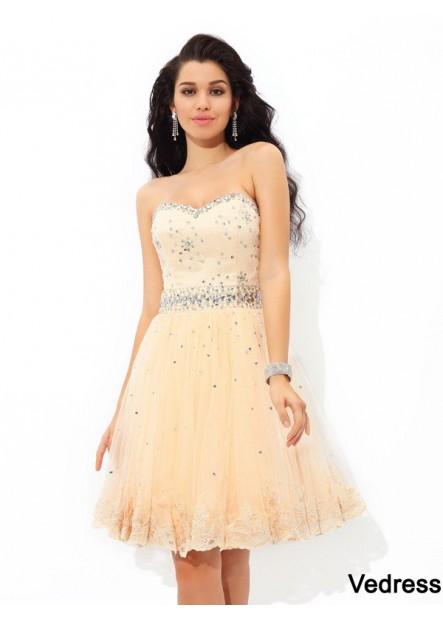 Vedress Short Homecoming Prom Evening Dress T801524710481