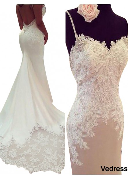Vedress 2021 Beach Wedding Dresses T801524714828