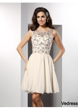 Vedress Sexy Short Homecoming Prom Evening Dress T801524710976