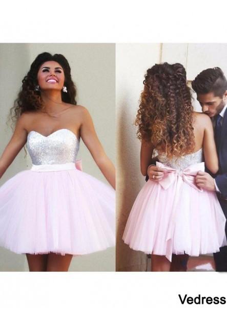 Vedress Short Homecoming Prom Evening Dress T801524710290
