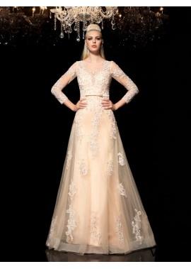 Vedress Sexy Beach Long Wedding  / Evening Dresses T801524710046