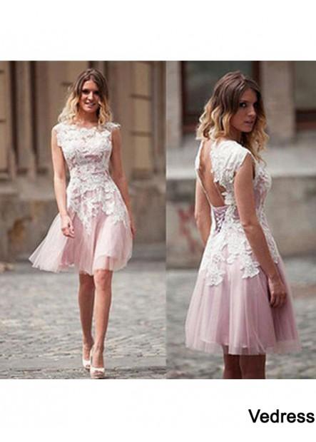 Vedress Short Homecoming Prom Evening Dress T801524710534