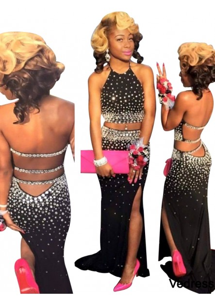 Vedress Two Piece Long Prom Evening Dress T801524704101