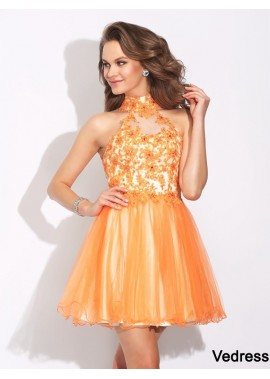 Vedress Sexy Short Homecoming Prom Evening Dress T801524710921