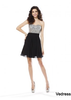 Vedress Sexy Short Homecoming Prom Evening Dress T801524711088