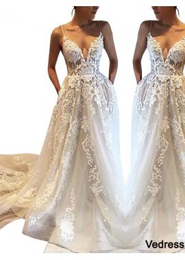 Vedress 2020 Beach Wedding Dresses T801524714695