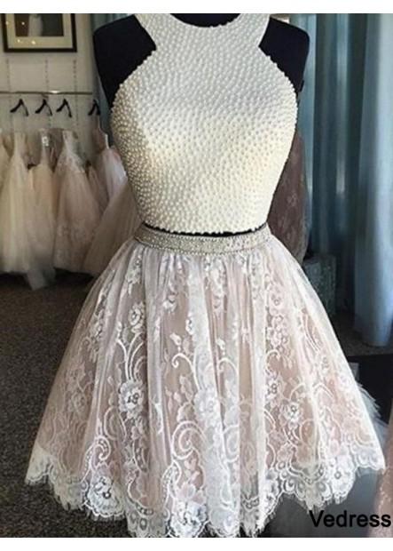 Vedress 2 Piece Short Homecoming Prom Evening Dress T801524710190