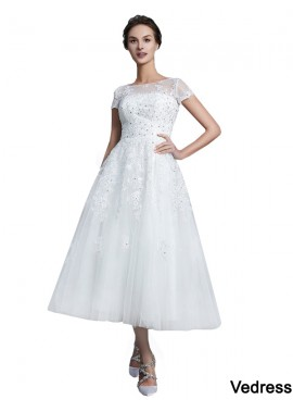 Vedress 2020 Short Wedding Dress T801524714729