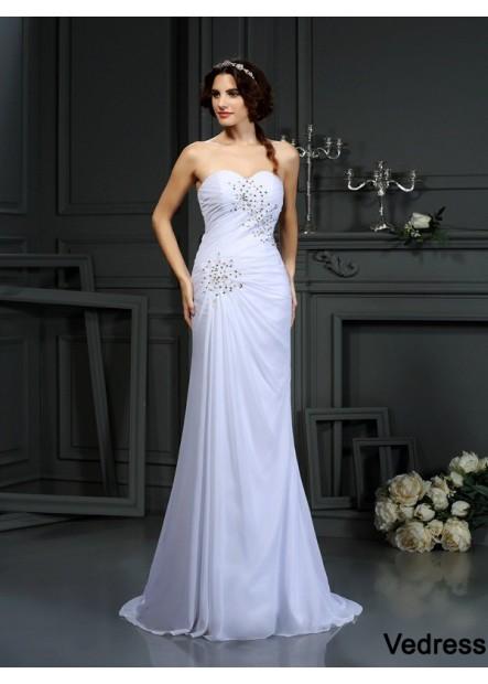 Vedress 2021 Beach Wedding Dresses T801524715290