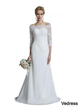 Vedress 2021 Beach Wedding Dresses T801524714689