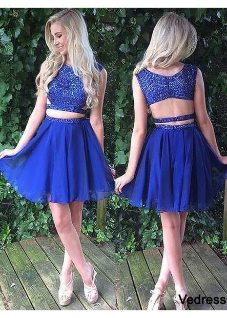 Vedress 2 Piece Homecoming Dress T801524728666