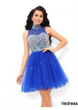 Vedress Sexy Short Homecoming Prom Evening Dress T801524710508