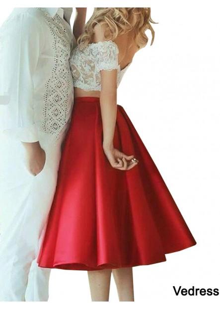 Vedress 2 Piece Homecoming Evening Dress T801524705886
