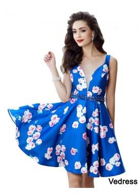 Vedress Short Homecoming Prom Evening Dress T801524706079