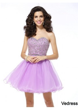Vedress Sexy Short Homecoming Prom Evening Dress T801524710476