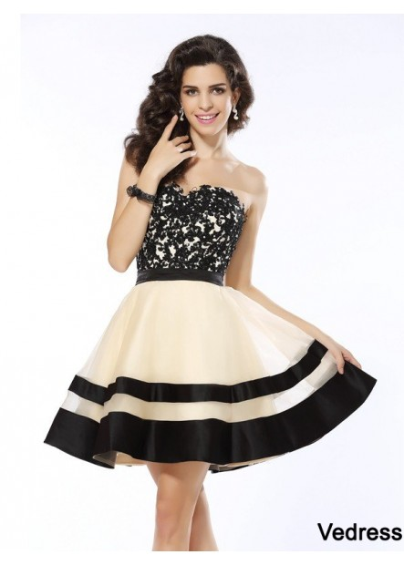 Vedress Sexy Short Homecoming Prom Evening Dress T801524710531