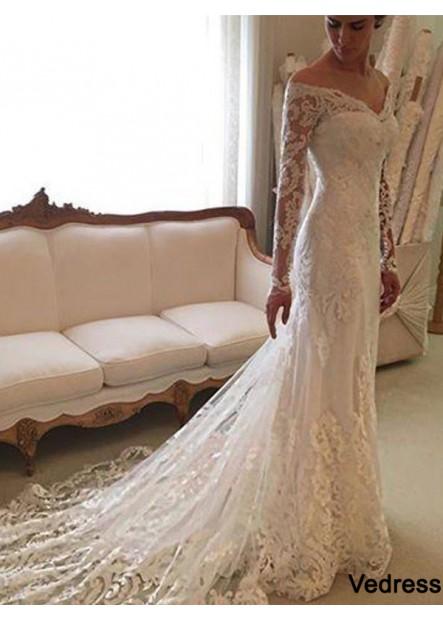 Vedress 2021 Beach Lace Wedding Dresses T801524714687