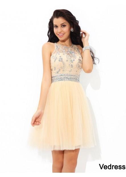 Vedress Short Homecoming Prom Evening Dress T801524710420