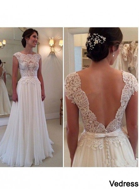 Vedress Beach Lace Wedding Dresses T801524714732