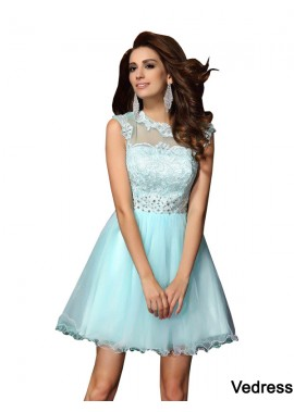 Vedress Sexy Short Homecoming Prom Evening Dress T801524706181