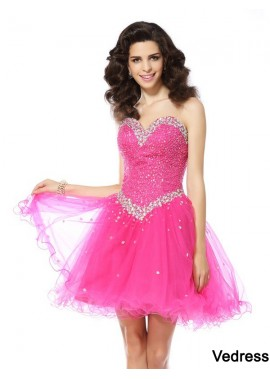 Vedress Sexy Short Homecoming Prom Evening Dress T801524710974