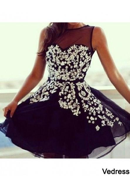 Vedress Short Homecoming Prom Evening Dress T801524710322