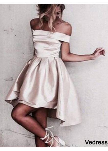 Vedress Short Homecoming Prom Evening Dress T801524710122