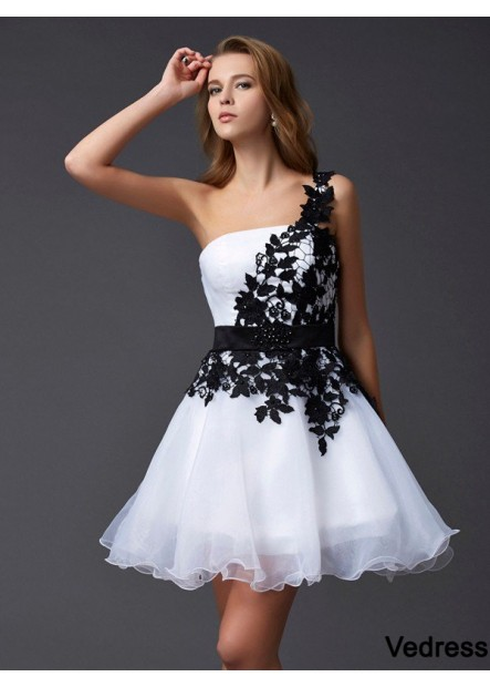 Vedress Short Homecoming Prom Evening Dress T801524710362