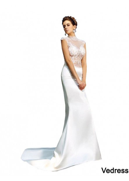 Vedress Sexy Beach Lace Mermaid Wedding  / Evening Dresses T801524705447