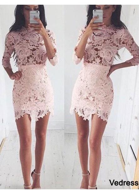 Vedress Short Homecoming Prom Evening Dress T801524710207