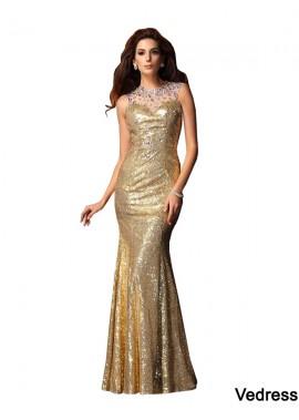 Vedress Sexy Mermaid Prom Evening Dress T801524706393