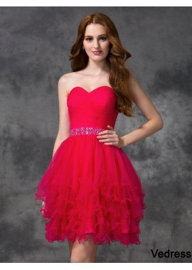 Vedress Short Homecoming Prom Evening Dress T801524710715