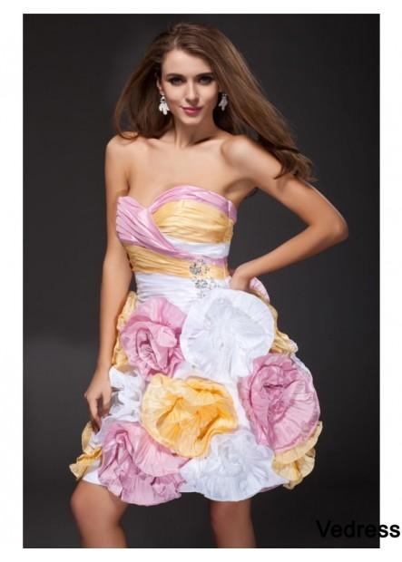 Vedress Short Homecoming Prom Dress T801524711355