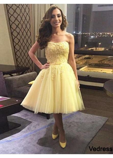 Vedress Short Homecoming Prom Evening Dress T801524710503