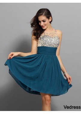 Vedress Sexy Short Homecoming Prom Evening Dress T801524710337