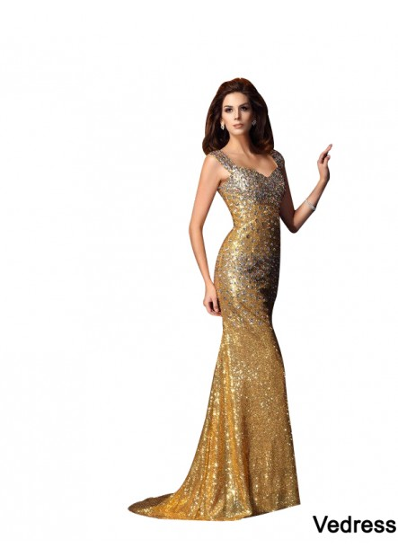 Vedress Sexy Mermaid Prom Evening Dress T801524705352