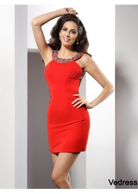 Vedress Sexy Short Homecoming Prom Evening Dress T801524710678