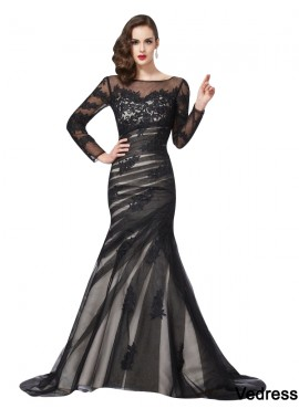 Vedress Mermaid Long Prom Evening Dress T801524705224