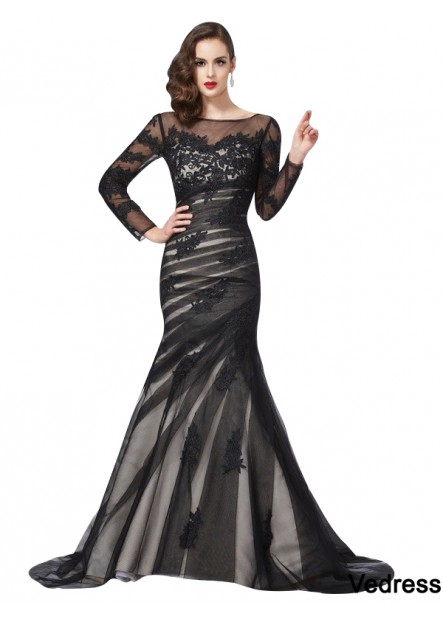 Vedress Mermaid Long Prom Evening Dress T801524705224