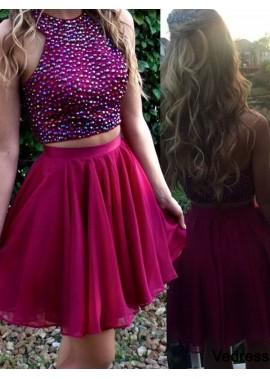 Vedress 2 Piece Short Homecoming Prom Evening Dress T801524710220